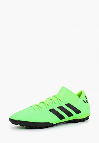 Купить Бутсы adidas - цвет: зеленый, Вьетнам, AD002AMCDJP2