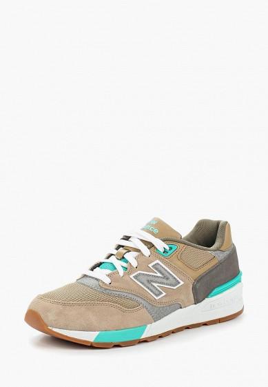 Купить Кроссовки New Balance - цвет: бежевый, Индонезия, NE007AMAGGH7