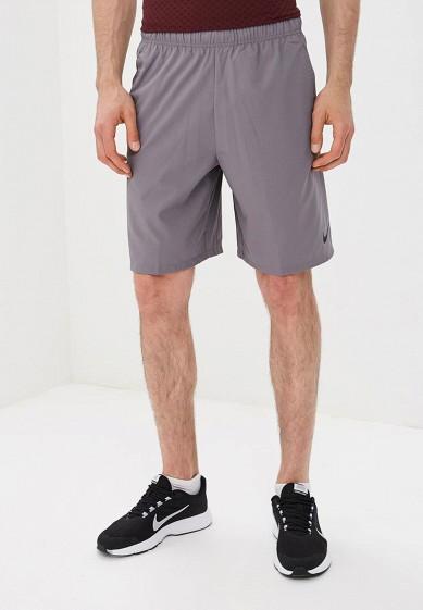 Купить Шорты спортивные Nike - цвет: серый, Таиланд, NI464EMBWHR4