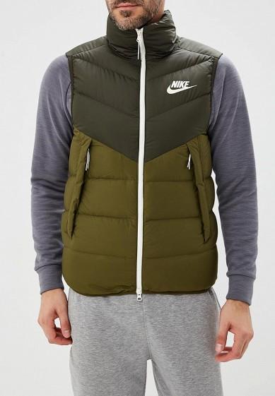Купить Жилет утепленный Nike - цвет: хаки, Индонезия, NI464EMBWIE6