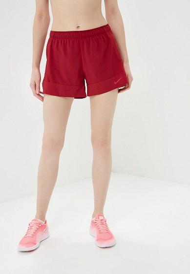 Купить Шорты спортивные Nike - цвет: бордовый, Вьетнам, NI464EWBWJC8