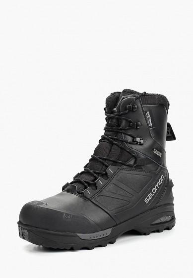 Купить Ботинки трекинговые Salomon - цвет: черный, Китай, SA007AMBOIJ5