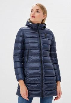 Пуховик, Blauer, цвет: синий. Артикул: BL654EWCATT9. Premium / Одежда / Верхняя одежда