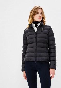 Пуховик, Blauer, цвет: черный. Артикул: BL654EWCAXU4. Premium / Одежда / Верхняя одежда