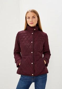 Куртка утепленная, Lauren Ralph Lauren, цвет: бордовый. Артикул: LA079EWBXEL7. Premium / Одежда / Верхняя одежда