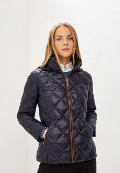 Пуховик, Lauren Ralph Lauren, цвет: синий. Артикул: LA079EWBXEM0. Premium / Одежда / Верхняя одежда
