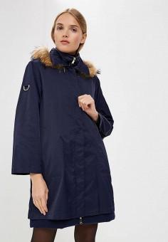 Пуховик, Max&Co, цвет: синий. Артикул: MA111EWBYAM3. Premium / Одежда / Верхняя одежда