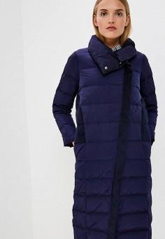 Пуховик, Max&Co, цвет: синий. Артикул: MA111EWBYAM5. Premium / Одежда / Верхняя одежда