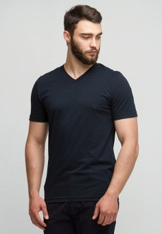 Футболка, Men's Yard, цвет: синий. Артикул: MP002XM0YG09. Men's Yard
