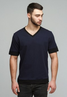 Футболка, Men's Yard, цвет: синий. Артикул: MP002XM0YG0E. Men's Yard