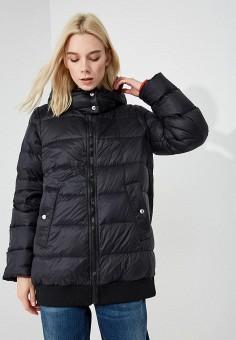 Пуховик, Sportmax Code, цвет: черный. Артикул: SP027EWBSXJ1. Premium / Одежда / Верхняя одежда