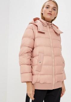 Пуховик, Sportmax Code, цвет: розовый. Артикул: SP027EWBSXJ2. Premium / Одежда / Верхняя одежда