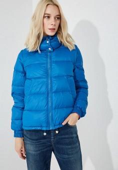 Пуховик, Sportmax Code, цвет: синий. Артикул: SP027EWBSXJ6. Premium / Одежда / Верхняя одежда