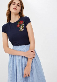 Футболка, Ted Baker London, цвет: синий. Артикул: TE019EWCEEI3. Одежда