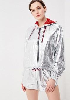 Ветровка, Tommy Hilfiger, цвет: серебряный. Артикул: TO263EWAGTE7. Одежда / Верхняя одежда