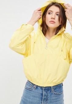 Ветровка, Tommy Hilfiger, цвет: желтый. Артикул: TO263EWAITQ4. Одежда / Верхняя одежда