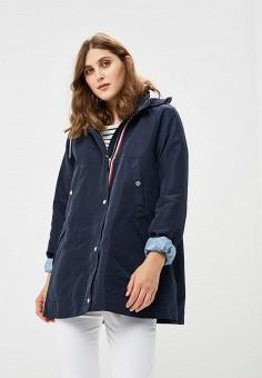 Куртка, Tommy Hilfiger, цвет: синий. Артикул: TO263EWBICF8. Одежда / Верхняя одежда