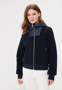 Куртка утепленная, Tommy Hilfiger, цвет: синий. Артикул: TO263EWBICG2. Одежда / Верхняя одежда
