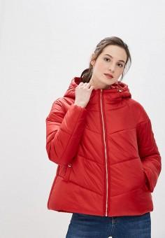 Куртка утепленная, Tommy Hilfiger, цвет: красный. Артикул: TO263EWBICG7. Одежда / Верхняя одежда