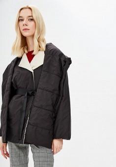 Куртка утепленная, Weekend Max Mara, цвет: черный. Артикул: WE017EWBSZI6. Premium / Одежда / Верхняя одежда